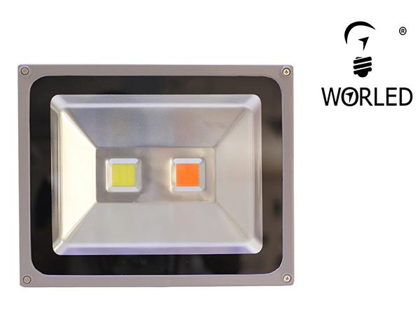 Proyector led cultivo duo 50w con espectro completo para crecimiento floracion interior worled - Led para cultivo interior informacion ...