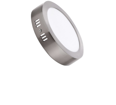 DOWNLIGHT LED PLATEADO